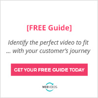 Identify the perfect video to fit with your customer's journey