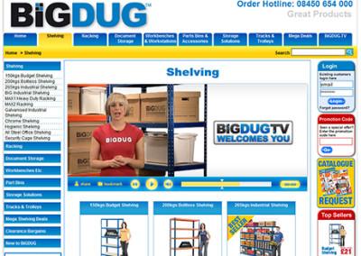 Our Work bigdug-shelving-mock-video-production-400x284