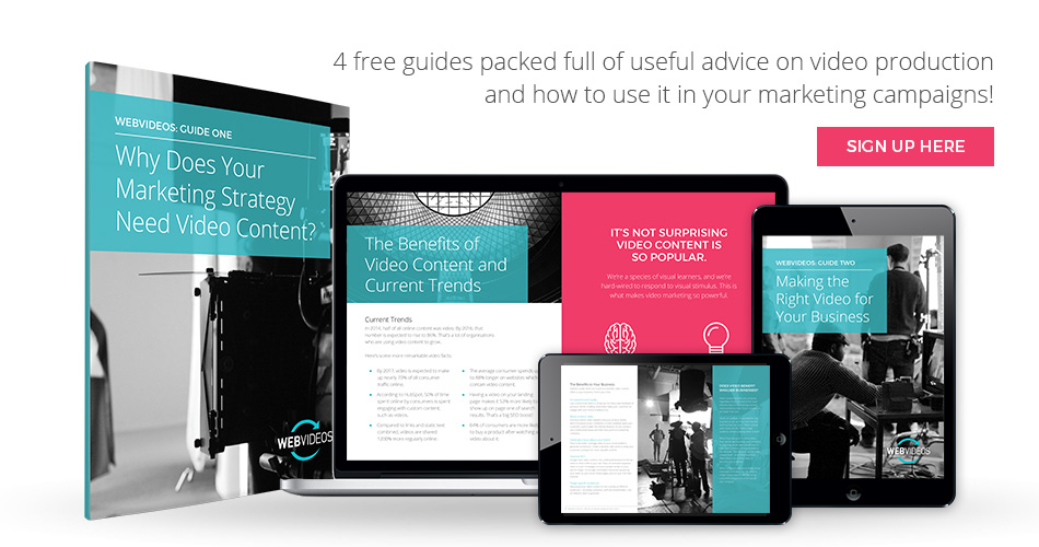 Your 4 Free Guides to Creating Video Content