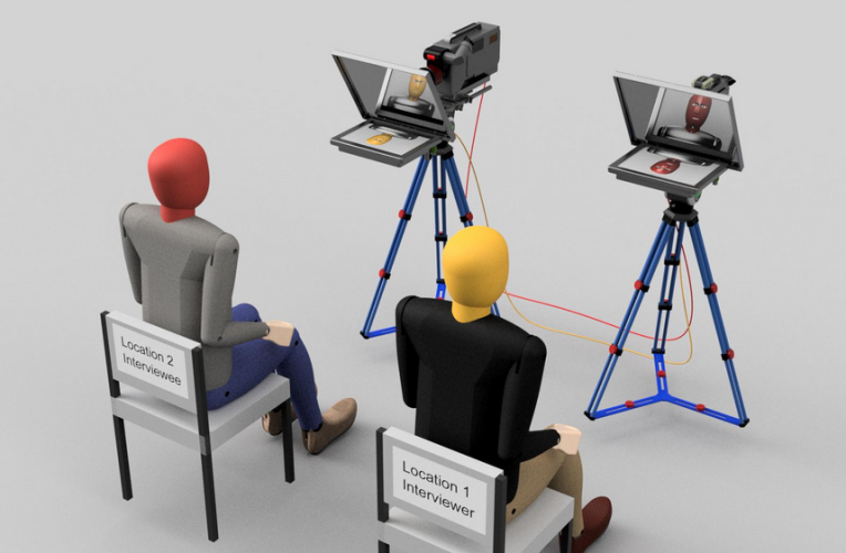 Using the Interrotron for Business Videos